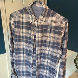 Tommy Hilfiger shirt, M, Slim Fit, blue plaid